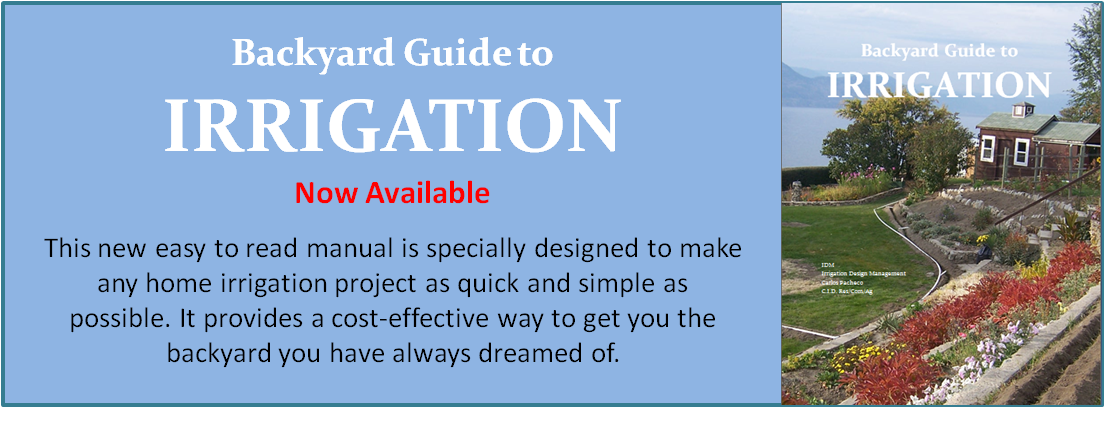 Irrigation Design Manual