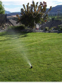 lawn irrigation design